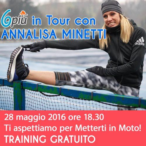 6piu in Tour con Annalisa Minetti