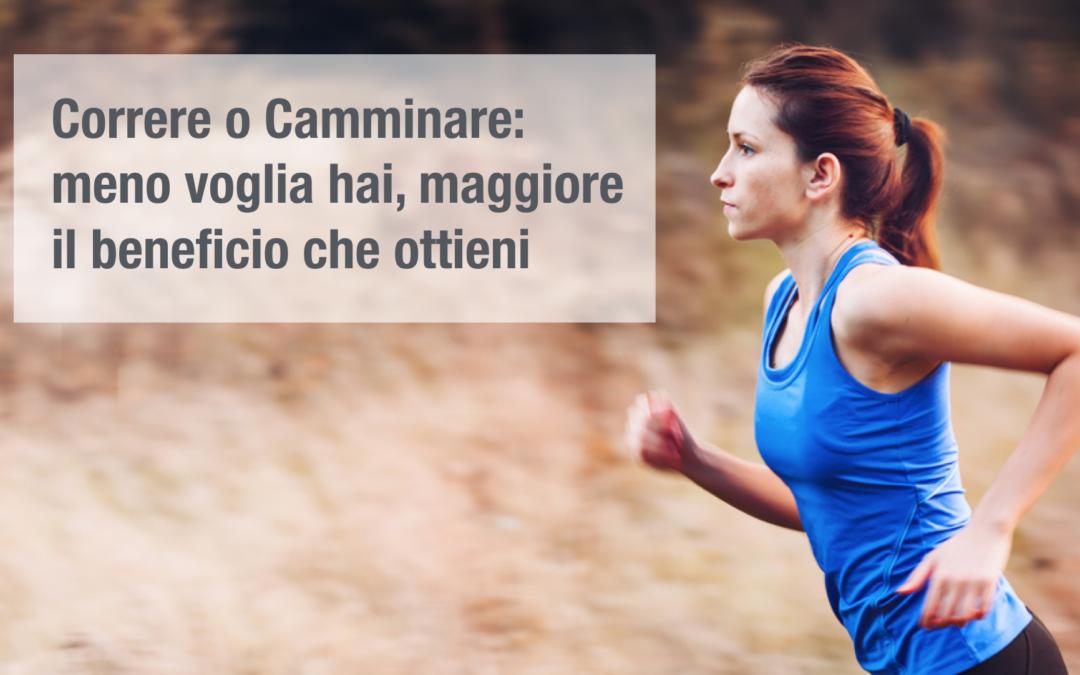 Correre o Camminare: i benefici non sono solo del corpo